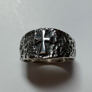 James Avery Retired Rugged Latin Cross Ring UNWORN